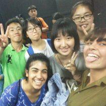 סדנה משותפת של הנוער משכונת התקווה עם בני נוער משנחאי