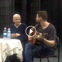 רבקה זהר ולירון לב בכיתת אמן בסטודיו למשחק מיסודו של יורם לוינשטיין