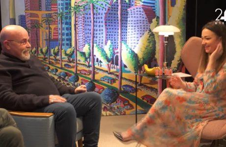 נלי תגר, בוגרת הסטודיו המהממת, בראיון מצחיק ומרגש עם יורם לוינשטיין בערוץ 24❤