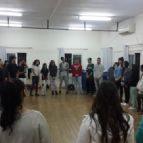 סדנא משותפת לקבוצות הנוער הקהילתיות משכונת התקווה בסטודיו
