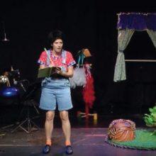 ילדי מועדוניות השכונה צפו בהצגה של בוגרת הסטודיו סיגל ברייזבלט סמברג