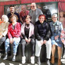 כתבה על קבוצת הקשישות של הסטודיו בטיים אווט תל-אביב
