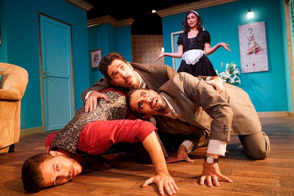 """מורדי גרשון, במאי ההצגה """"של מי המיטה הזאת?"""" ויורם לוינשטיין בראיון לרדיו """"כאן תרבות"""""""