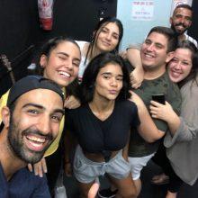 שמעון חאבה (בוגר הסטודיו מחזור 2012) הנחה סדנה לקבוצת נוער השכונה. היה מהמם…
