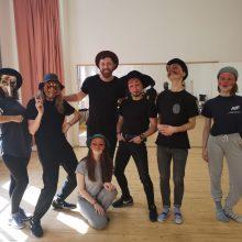 פרוייקט חילופי מורים בין הסטודיו לבית ספר למשחק בסלובקיה