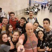 """קבוצת הנוער הייצוגית של שכונת התקווה בפסטיבל בינלאומי באוסטריה עם """"מציאות מדומה"""""""