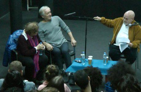 אנדזי סברין, מגדולי השחקנים הפולנים, שחקן של פיטר ברוק ב״מהברטה״, הופיע בפני שחקני הסטודיו בסדנת אמן מרתקת
