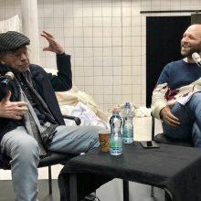 יצחק חזקיה, מגדולי שחקני התיאטרון הישראלי, התארח לסדנת אמן מרתקת, מצחיקה, מלמדת ומפתיעה עם תלמידי הסטודיו
