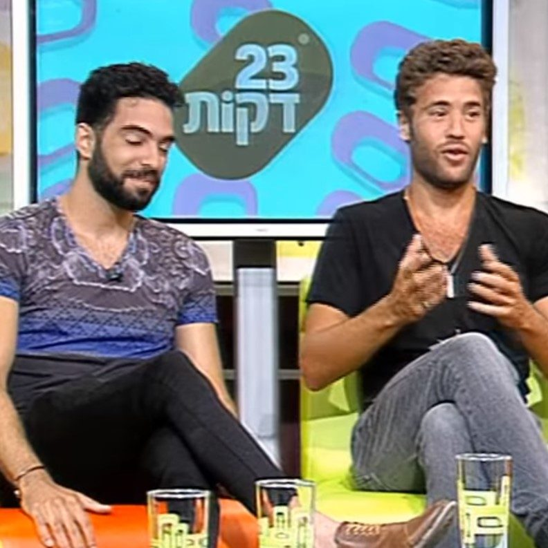 גל פופולר, שחקן שנה ג', ועיגן חוגה, שחקן קבוצת נוער שכונת התקווה, בראיון לערוץ 23