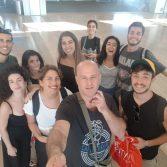 בהצלחה לקבוצת שחקני הסטודיו והקהילה בפרויייקט בינלאומי בסלובניה